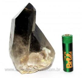 Drusa Fume Pontas Cristal Aglomerado Esoterismo Cod DF9373