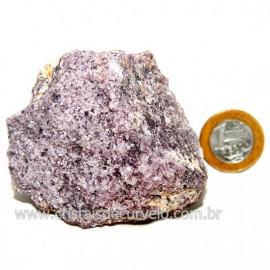 Lepidolita Mica Natural Mineral P/Colecionador Cod 124262