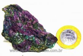Rubi Pedra Bruto Natural na Matriz de Corindon Cod RC7299