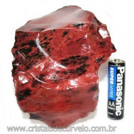 Obsidiana Mogno ou Mahogany Pedra Bruta Vulcanica Cod 115823
