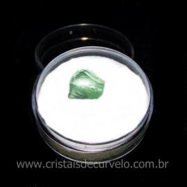 Hidenita ou Kunzita Amarela No Estojo P/ Coleçao Cod  115466
