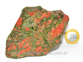Unakita Pedra Bruta Natural De Garimpo Boa Cor Cod UB1111