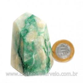 Peso de Papel Pedra Jadeita Verde Para Escritório Cod 126573