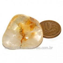 Hematoide Amarelo com Inclusão Dendrita Pedra Natural Cod 126212