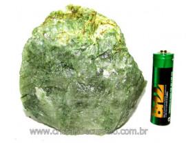 Epidoto Verde Filamento na Matriz Cristal Quartzo Cod EQ4117
