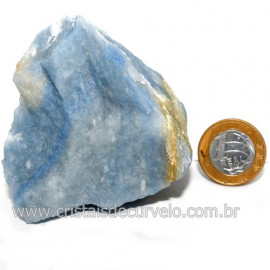 Quartzo Azul ou Aventurina Azul Bruto Natural Cod 123190