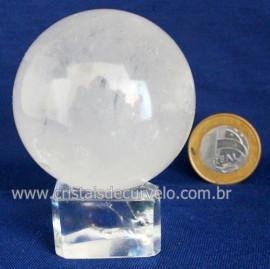 Bola Cristal Boa Qualidade Esfera Pedra Natural Cod 119407