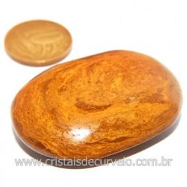 Sabonete Massageador Jaspe Amarelo Pedra Natural Cod 119748