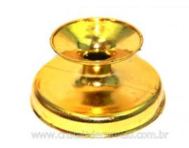 03 Base Esferas Modelo Acrilico Dourado Esferas de 150 a 900gr