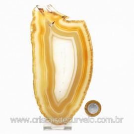 Chapa de Agata Natural Porta Frios Bandeja Pedra Natural 123496