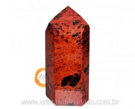 Ponta Obsidiana Mahogany ou Mogno Pedra Vulcanica Cod PM4415