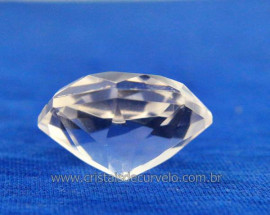 Diamante Natural Cristal Super Extra Lapidação Manual Cod DC6928