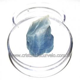 Calcita Azul do Mexico no Estojo Pedra Natural Cod 114198