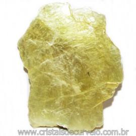 Chapa de Mica Amarela Bruta Natural de Garimpo Cod 115583