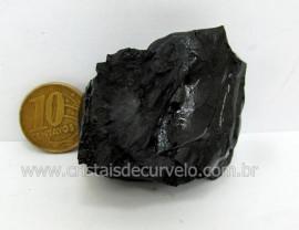 Azeviche Bruto Pedra Organica Para Esoterismo Ambar Negro Linhito Cod 145.5