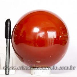 Esfera Jaspe Vermelho Pedra Natural Esfera Grande 4.1kg Cod 125460
