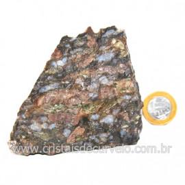Riolita Rosa Rocha Vulcânica Pedra de Garimpo Bruto Cod 128046