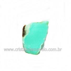 Crisoprasio Bruto Lasca No Estojo Mineral Natural Cod 118536