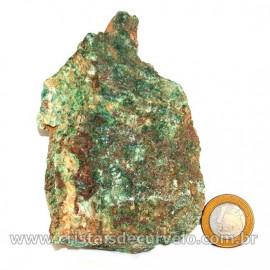 Fuxita Mica Verde Para Colecionador Pedra Natural Cod 126815