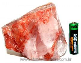 Hematoide Vermelho Natural Quartzo Cristalizado Cod HV8931