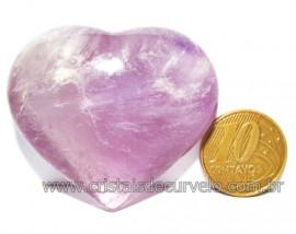 Coraçao Ametista Pedra Natural Ideal P/Presentear Cod 116111