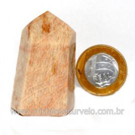 Ponta Amazonita Rosa Pedra Da Família Feldspato Cod 123442