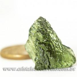 Moldavita Pedra Formada por Impacto de Meteoro Cod 125154