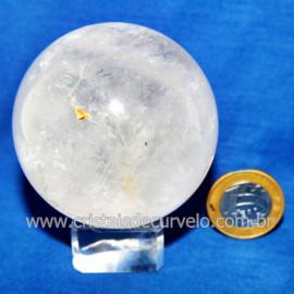 Bola Cristal Comum Qualidade Pedra Uso Esoterico Cod 119777