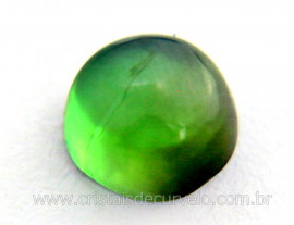 Gema Turmalina Verde Lisa Pedra Natural 1.2ct 6mm Reff TV8931