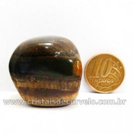 Olho de Falcão Rolado Pedra Natural Origem África Cod 127006