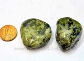 02 Jadeita Rolado Pedra Natural de Garimpo Esoterismo Colecionador Reff 26.1