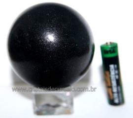 Esfera Pedra Quartzo Preto ou Quartzito Natural Cod BP5063