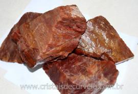 ARAGONITA VERMELHO Pedra Bruto Pra Lapidar Pacote Atacado 5 kg