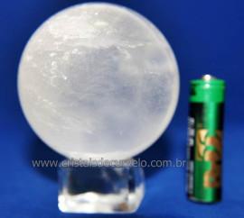 Bola Cristal Boa Qualidade Esfera Pedra Natural Cod 110635