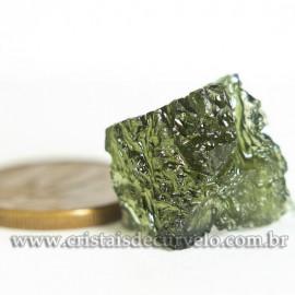 Moldavita Pedra Formada por Impacto de Meteoro Cod 125160