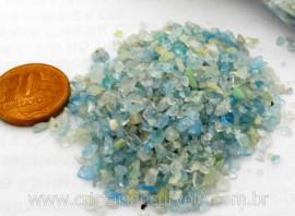 Aguas Marinhas Pedra Rolado FARELO Pacotinho 20 Gr Mineral Natural