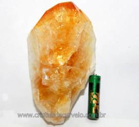 Citrino Terminado Pedra Bombardeado Mineral Bruto Cod CT1731
