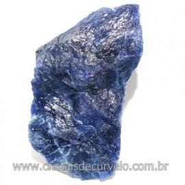 Sodalita Azul Natural de Garimpo Para Colecionar Cod 118071