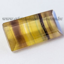 Fluorita Gema Pedra Natural Montagem Joias Finas cod 112667
