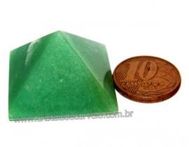 Pirâmide 20 a 30 Quartzo Verde Baseada na Queops Reff PV1598