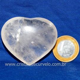 Coração Cristal Comum Qualidade Natural Garimpo Cod 126244