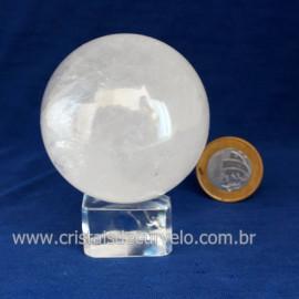 Bola Cristal Comum Qualidade Pedra Uso Esoterico Cod 121668