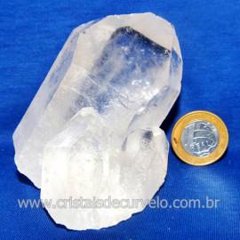 Drusa Cristal Pedra Quartzo Natural Boa Qualidade Cod 123636