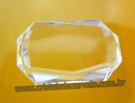 Cristal Gema Facetado Pedra Quartzo Cristalino Para Montagem de Joias Finas  Cod 32.1