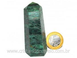 Ponta Fuxita Verde Pedra Natural Mineral Garimpo Cod PF7767