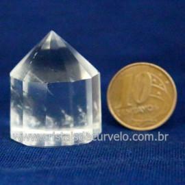 Voguel Cristal 01 Ponta Pedra Natural 12 Facetas Cod 123404