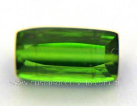 Gema Turmalina Verde Pedra Natural Montagem Joias Cod TV2811