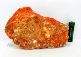 Calcita Laranja Mineral Bruto Pedra Natural Para Coleção ou Esoterismo Cod 512.0