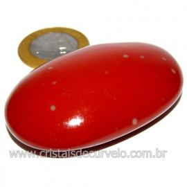 Sabonete Massageador Jaspe Vermelho Pedra Natural Cod 114301