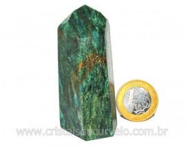 Ponta Fuxita Verde Pedra Natural Mineral Garimpo Cod PF2346